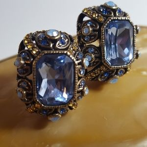 Heidi Daus Earrings Rhinestone Post